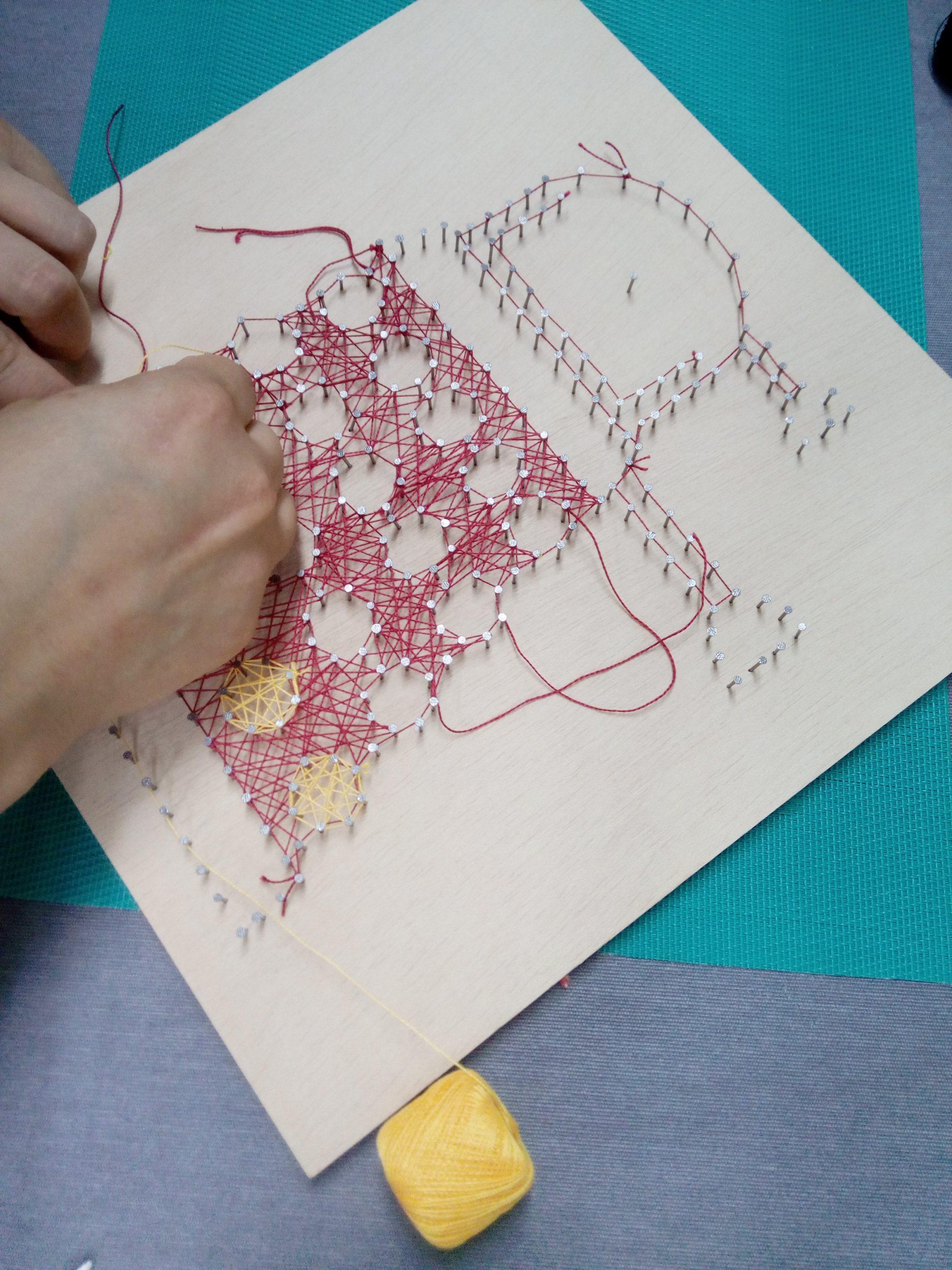 string art laviu talleres