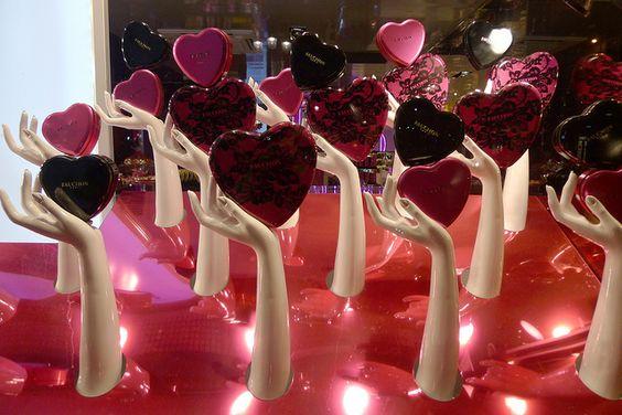 escaparate San Valentín